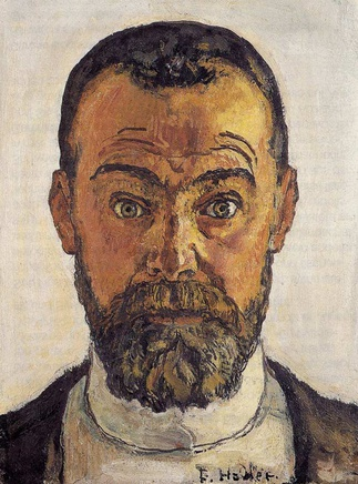 Ferdinand Hodler (1853-1918), Self-portrait, 1912, oil on canvas, 35,5 x 27 cm, Kunstmuseum Winterthur