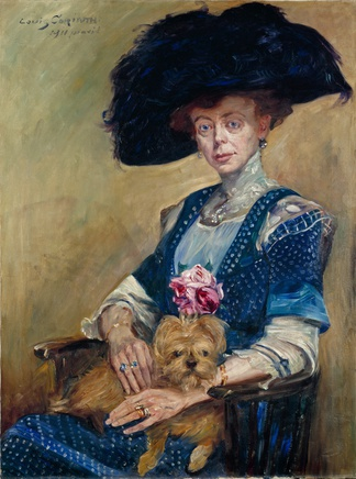 Lovis Corinth (1858-1925), Frau Luther, 1911, oil on canvas, 115,5 x 86 cm, Niedersächsisches Landesmuseum Hannover