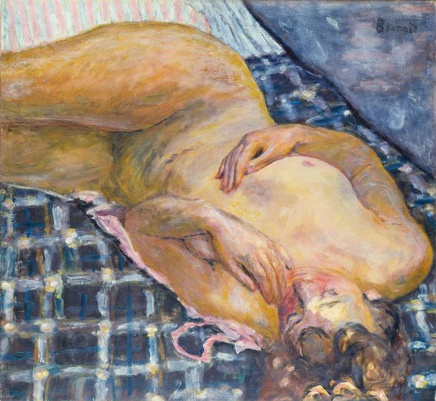 Pierre Bonnard (1867-1947), Nude, ca. 1909, oil on canvas, 60 x 65 cm, Städel Museum, Frankfurt am Main