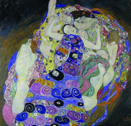 Gustav Klimt (1862-1918), The virgin, 1913, Oil on canvas, 190 x 200 cm, National Gallery Prague