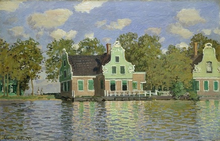 Claude Monet (1840-1926), Houses on the Zaan, 1871, Oil on canvas, 47,5 x 73,5 cm, Städel Museum, Frankfurt am Main