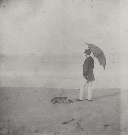 Winslow Homer at Marshfield, ca. 1869, photograph, Bowdoin College Museum of Art