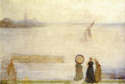 James McNeill Whistler (1834-1903), Battersea Reach from Lindsey Houses, c. 1863, oil on canvas, 76,2 x 50,8 cm, The Hungarian, Glasgow