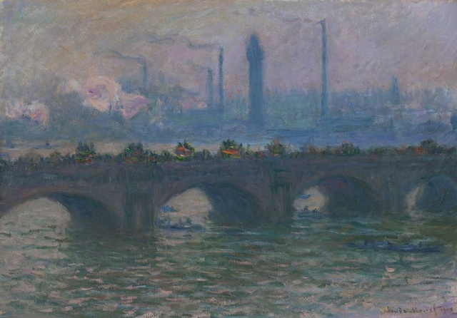 Claude Monet (1840-1926), Waterloo Bridge, 1903, Oil on canvas, 65,4 x 92,9 cm, Worcester Art Museum